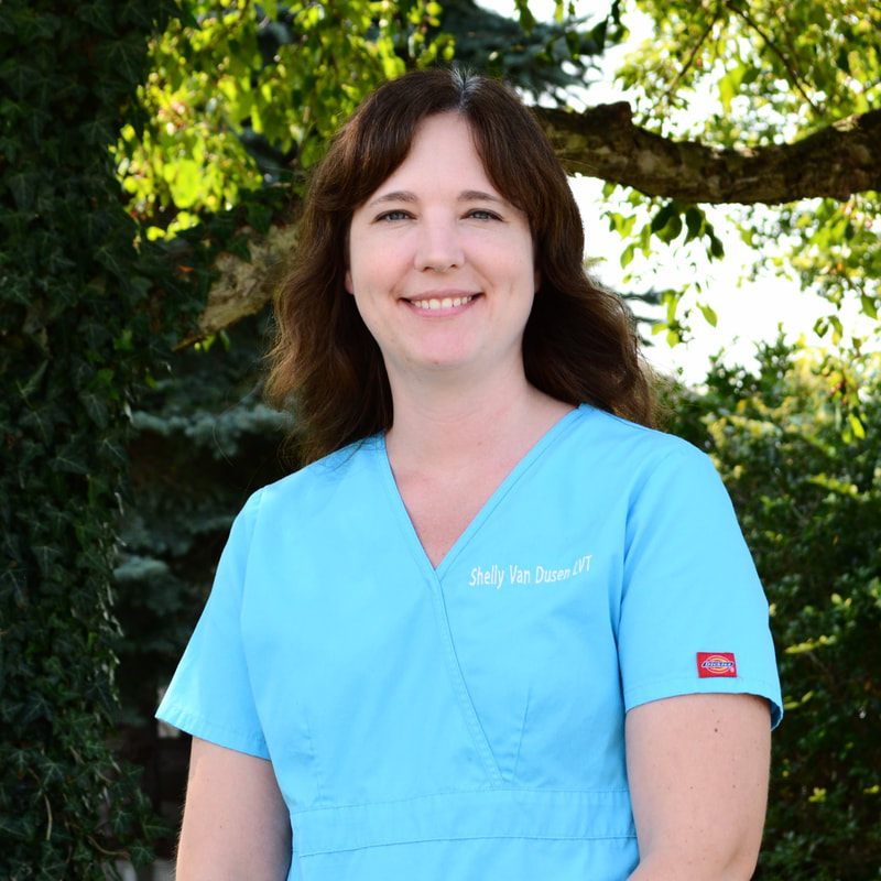 Shelly Van Dusen, Licensed Veterinary Technician
